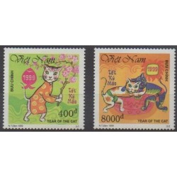 Vietnam - 1999 - No 1802/1803 - Horoscope