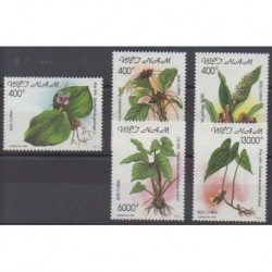 Vietnam - 1999 - Nb 1811/1815 - Flora