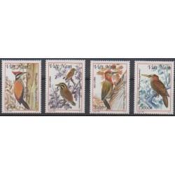 Vietnam - 1999 - No 1831/1834 - Oiseaux
