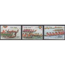 Vietnam - 1999 - No 1851/1853 - Sports divers
