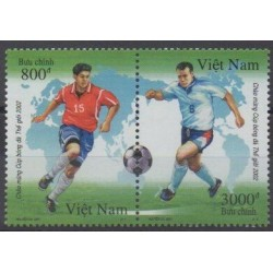 Vietnam - 2001 - No 2008/2009 - Coupe du monde de football