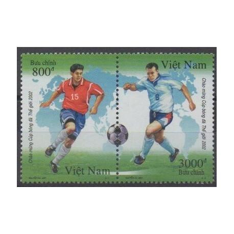 Vietnam - 2001 - Nb 2008/2009 - Soccer World Cup