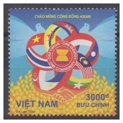 Vietnam - 2015 - No 2490 - Drapeaux