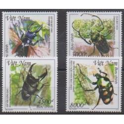 Vietnam - 2015 - No 2496/2499 - Insectes