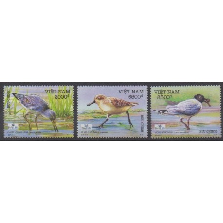 Vietnam - 2010 - No 2352/2354 - Oiseaux