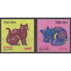 Vietnam - 2010 - No 2369/2370 - Horoscope