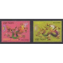 Vietnam - 2011 - No 2392/2393 - Horoscope