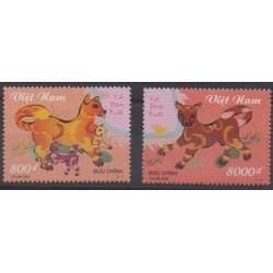 Vietnam - 2005 - Nb 2237/2238 - Horoscope