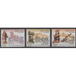 Vietnam - 2005 - No 2234/2235 - Histoire militaire