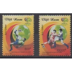 Vietnam - 2006 - No 2249/2250 - Coupe du monde de football