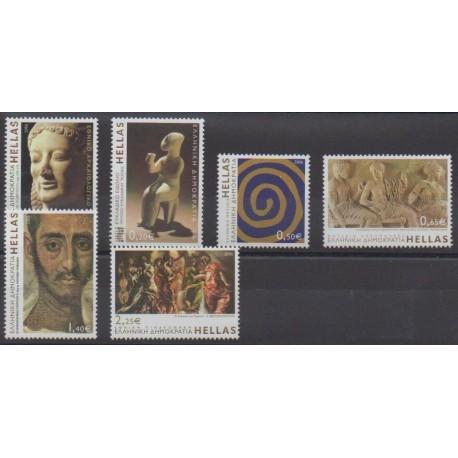 Grèce - 2006 - No 2324/2329 - Art