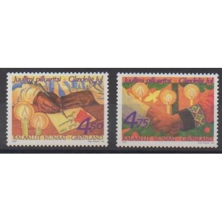 Groenland - 1999 - No 322/323 - Noël
