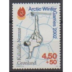 Groenland - 2001 - No 344 - Sports divers