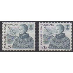 Groenland - 2001 - No 348/349 - Royauté - Principauté
