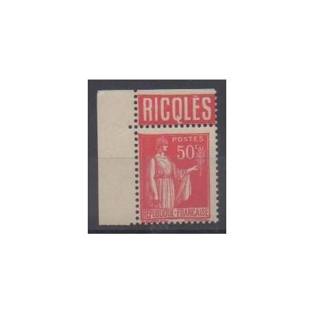 France - Varieties - 1932 - Nb 283a