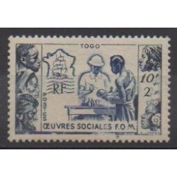 Togo - 1950 - Nb 254 - Mint hinged