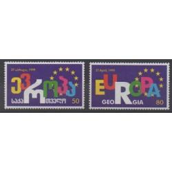 Géorgie - 1999 - No 238/239 - Europe