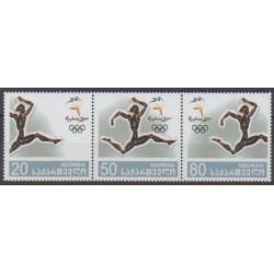 Géorgie - 2000 - No 270/272 - Jeux Olympiques d'été