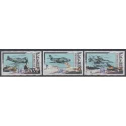 Géorgie - 2000 - No 274/276 - Aviation