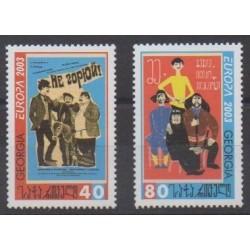 Georgia - 2003 - Nb 328/329 - Art - Europa