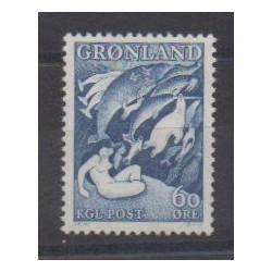 Groenland - 1957 - No 30 - Littérature