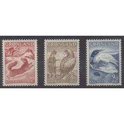 Groenland - 1966 - No 56/58 - Littérature