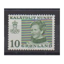 Groenland - 1973 - No 72b - Royauté - Principauté