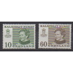 Greenland - 1973 - Nb 72/73 - Royalty