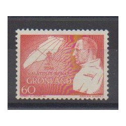 Greenland - 1969 - Nb 61 - Royalty