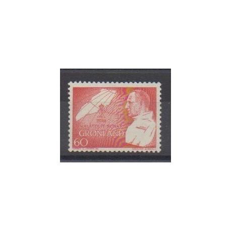 Groenland - 1969 - No 61 - Royauté - Principauté