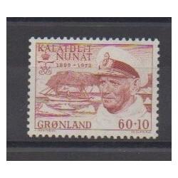Groenland - 1972 - No 69 - Royauté - Principauté