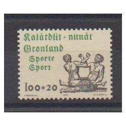 Groenland - 1976 - No 85 - Sports divers