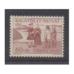 Greenland - 1971 - Nb 70 - Various Historics Themes