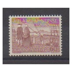 Greenland - 1971 - Nb 65 - Various Historics Themes