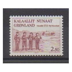 Groenland - 1983 - No 134 - Musique