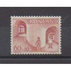 Greenland - 1968 - Nb 60 - Childhood