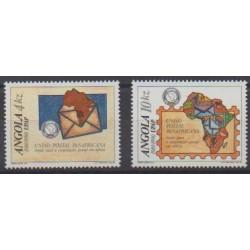 Angola - 1990 - No 770/771 - Service postal