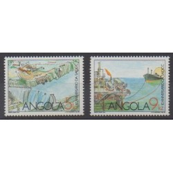 Angola - 1990 - No 768/769