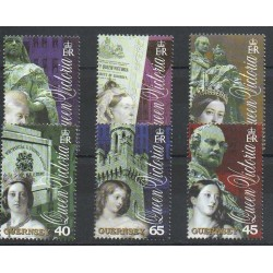 Guernsey - 2001- Nb 884/889 - Royalty