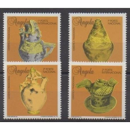Angola - 1995 - Nb 947/950 - Art