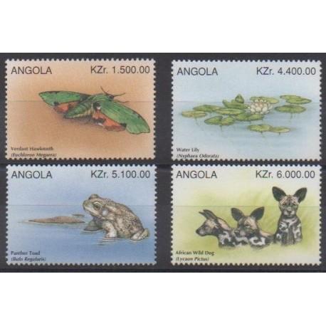 Angola - 1996 - No 1027/1030 - Animaux