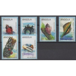 Angola - 1998 - No 1180/1185 - Vie marine