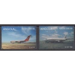 Angola - 1999 - Nb 1223/1224 - Planes