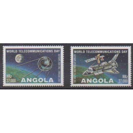Angola - 1995 - Nb 957/958 - Telecommunications