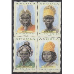 Angola - 1999 - Nb 1272/1275 - Royalty