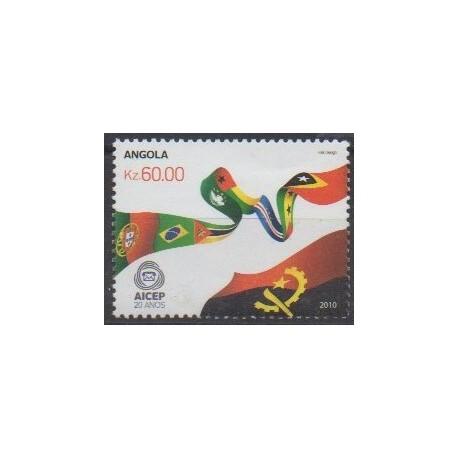 Angola - 2010 - Nb 1669 - Postal Service