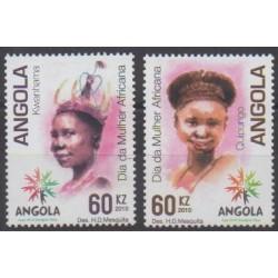 Angola - 2010 - Nb 1667/1668