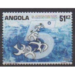 Angola - 2007 - Nb 1617 - Various Historics Themes