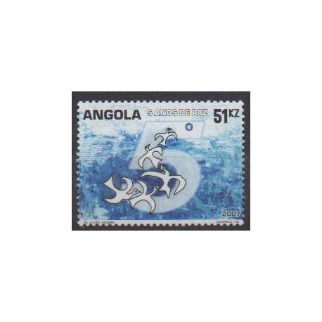 Angola - 2007 - Nb 1617 - Various Historics Themes