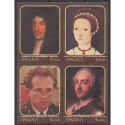 Angola - 2000 - No 1462/1465 - Royauté - Principauté